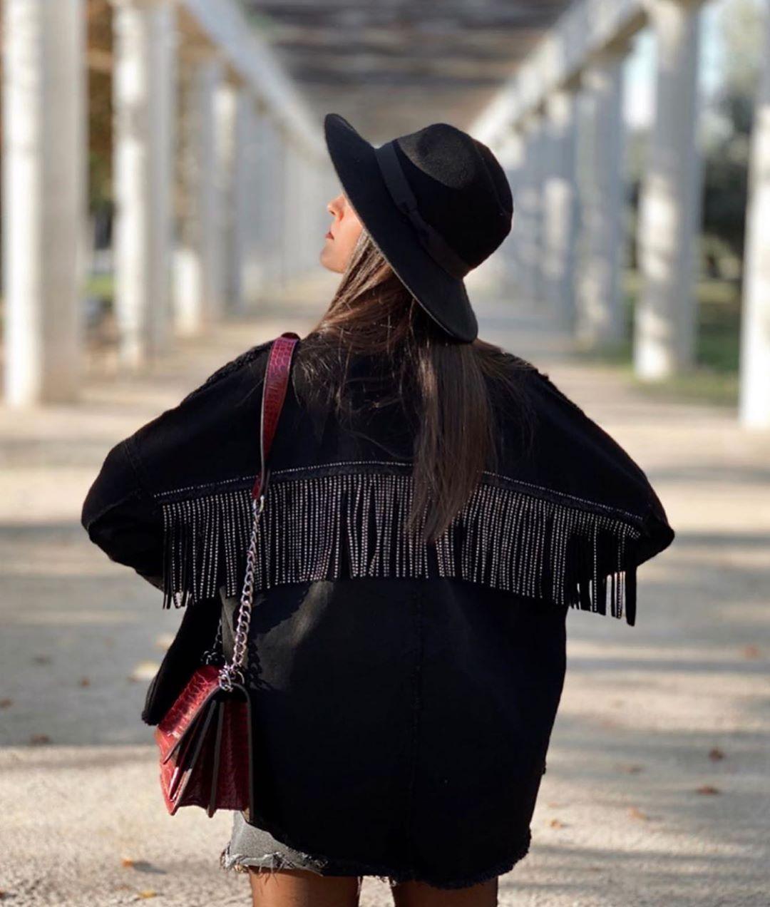veste à franges effet brillant de Zara sur zara.outfits