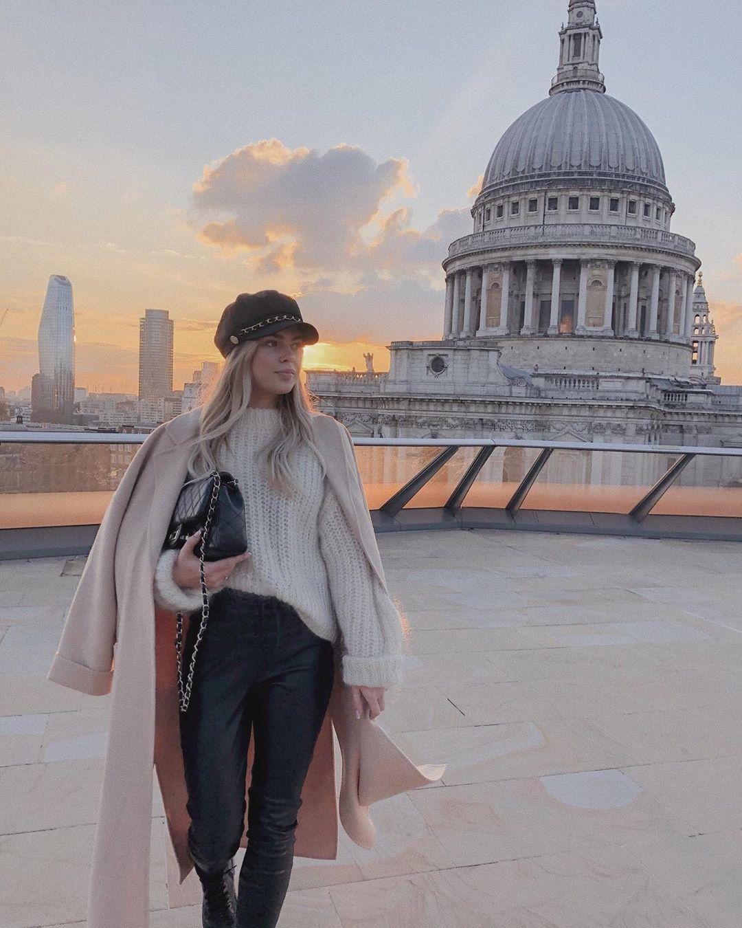 coat with patch pockets de Zara sur mildagud