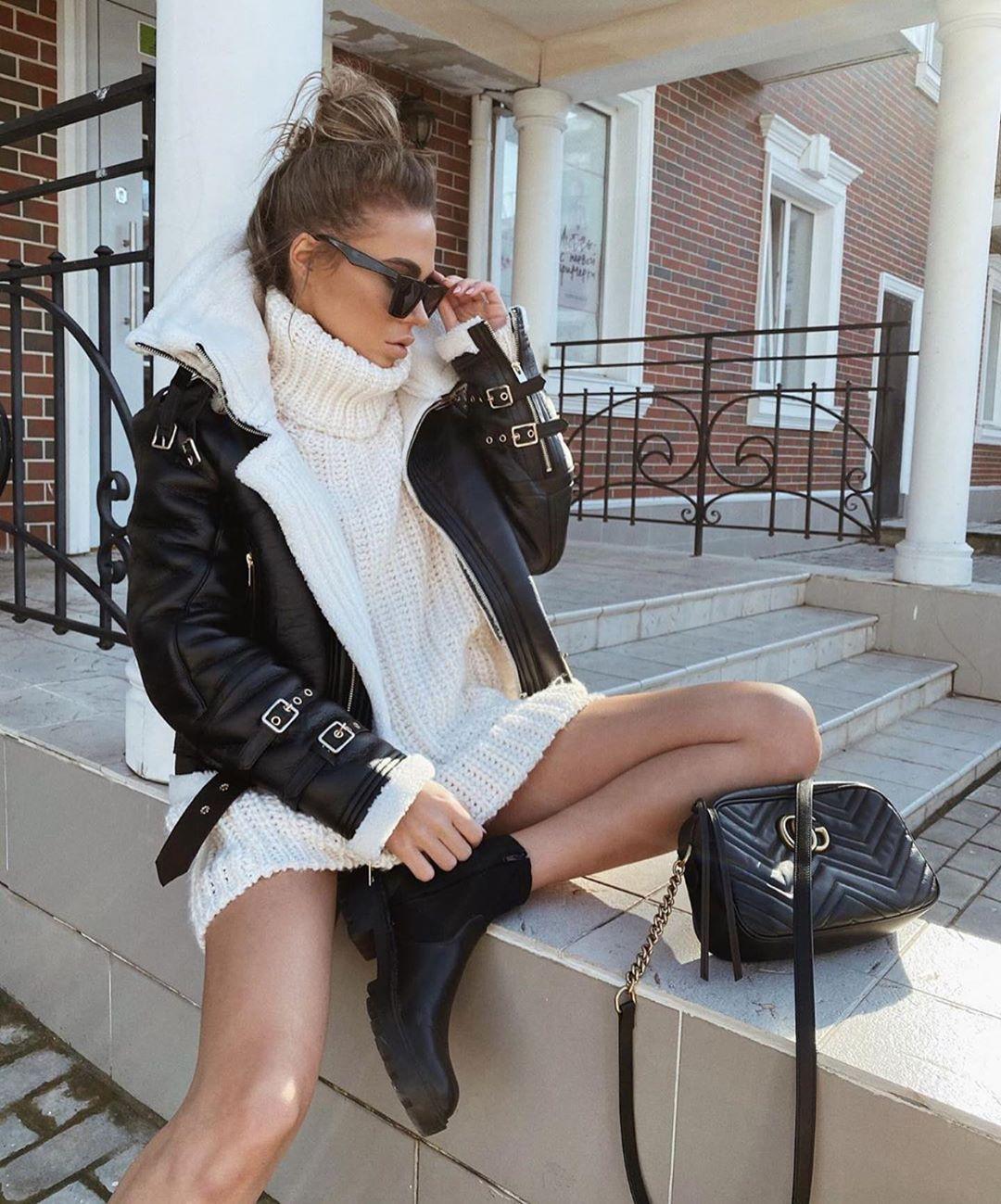 veste double face oversize de Zara sur zara_streets