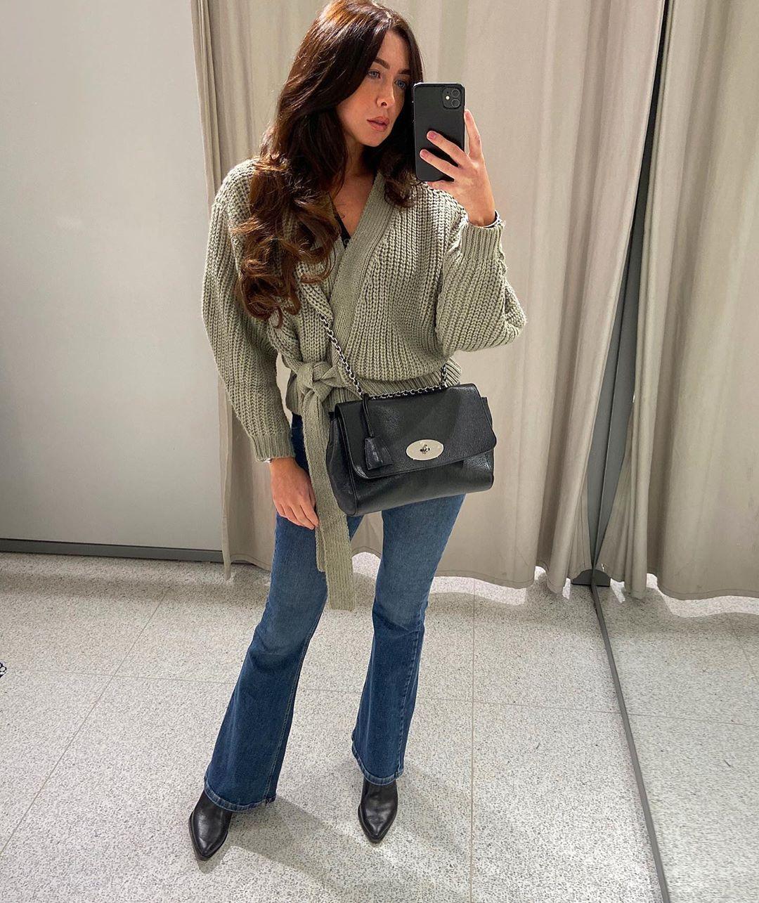 short belt jacket de Zara sur courtbyafeather