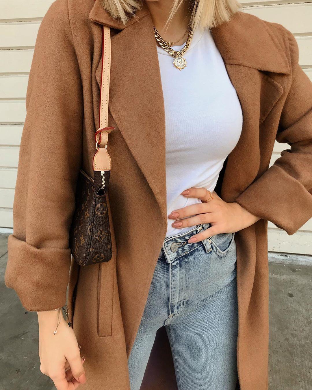 belt coat de Zara sur oykuozguler