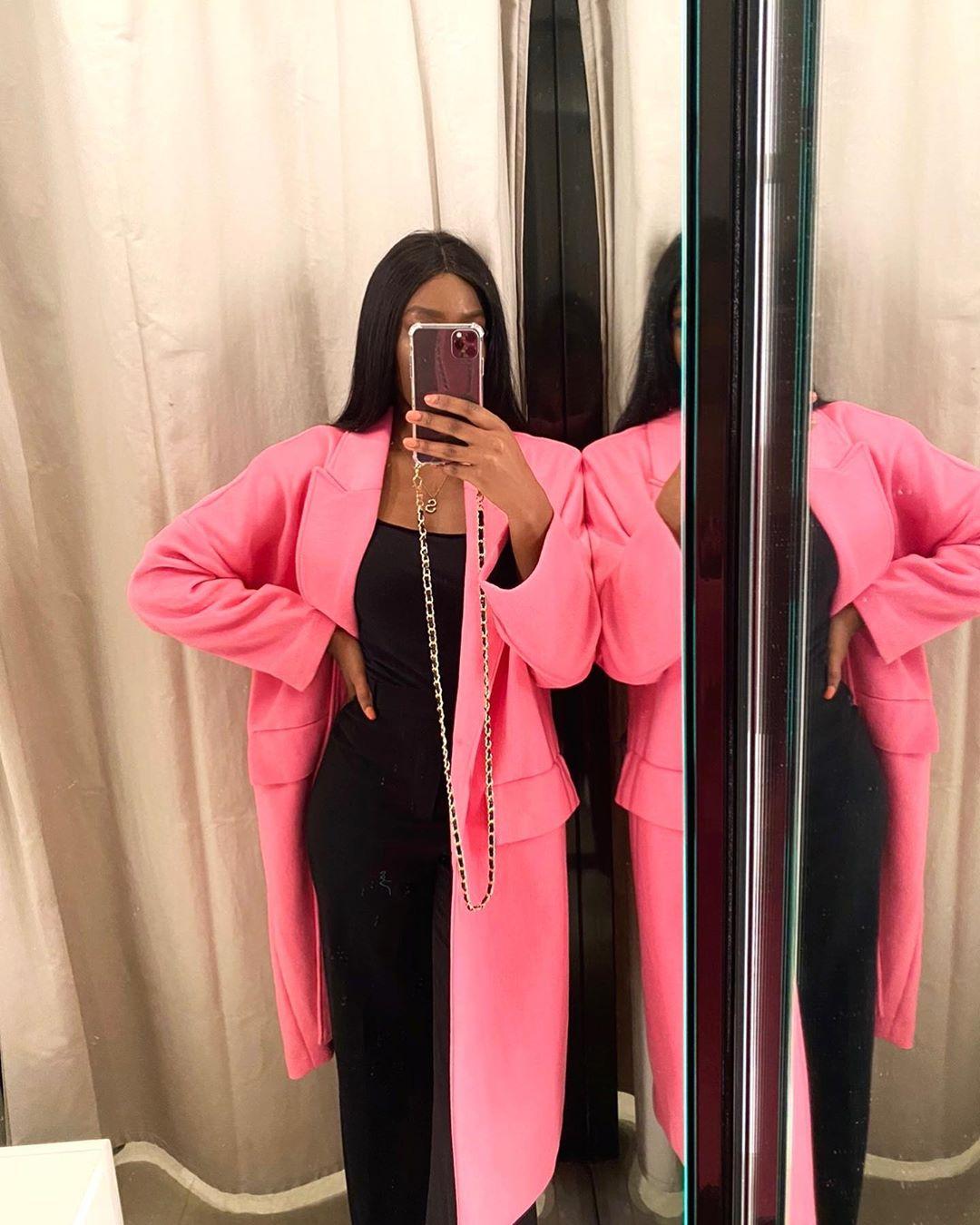oversized coat with flaps de Zara sur alieh.s_