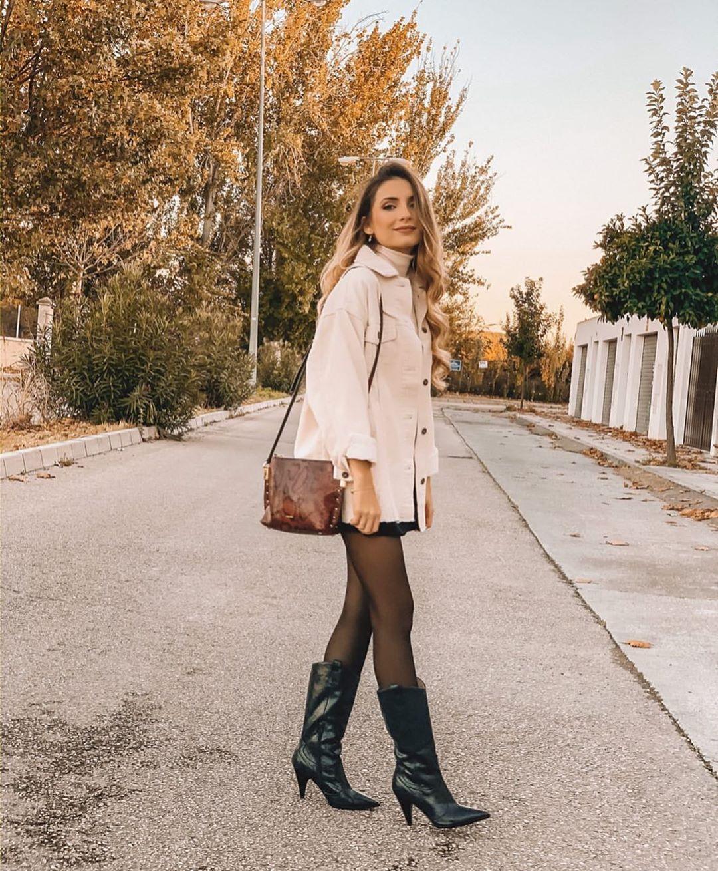 surchemise en velours côtelé à poches de Zara sur zara.outfits