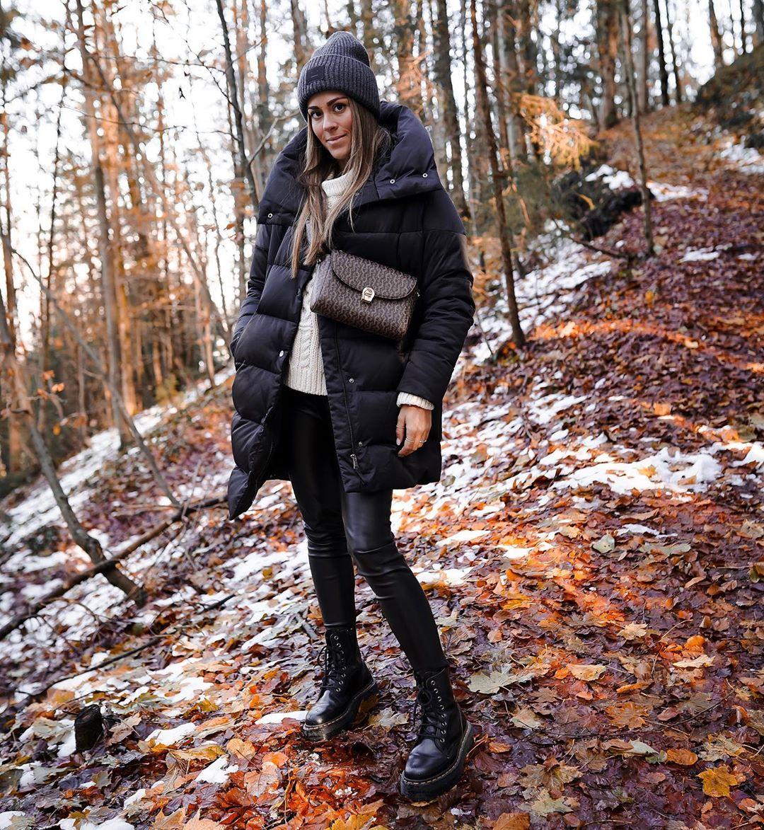 sorona® dupont™ quilted coat de Zara sur _dolce__deborina
