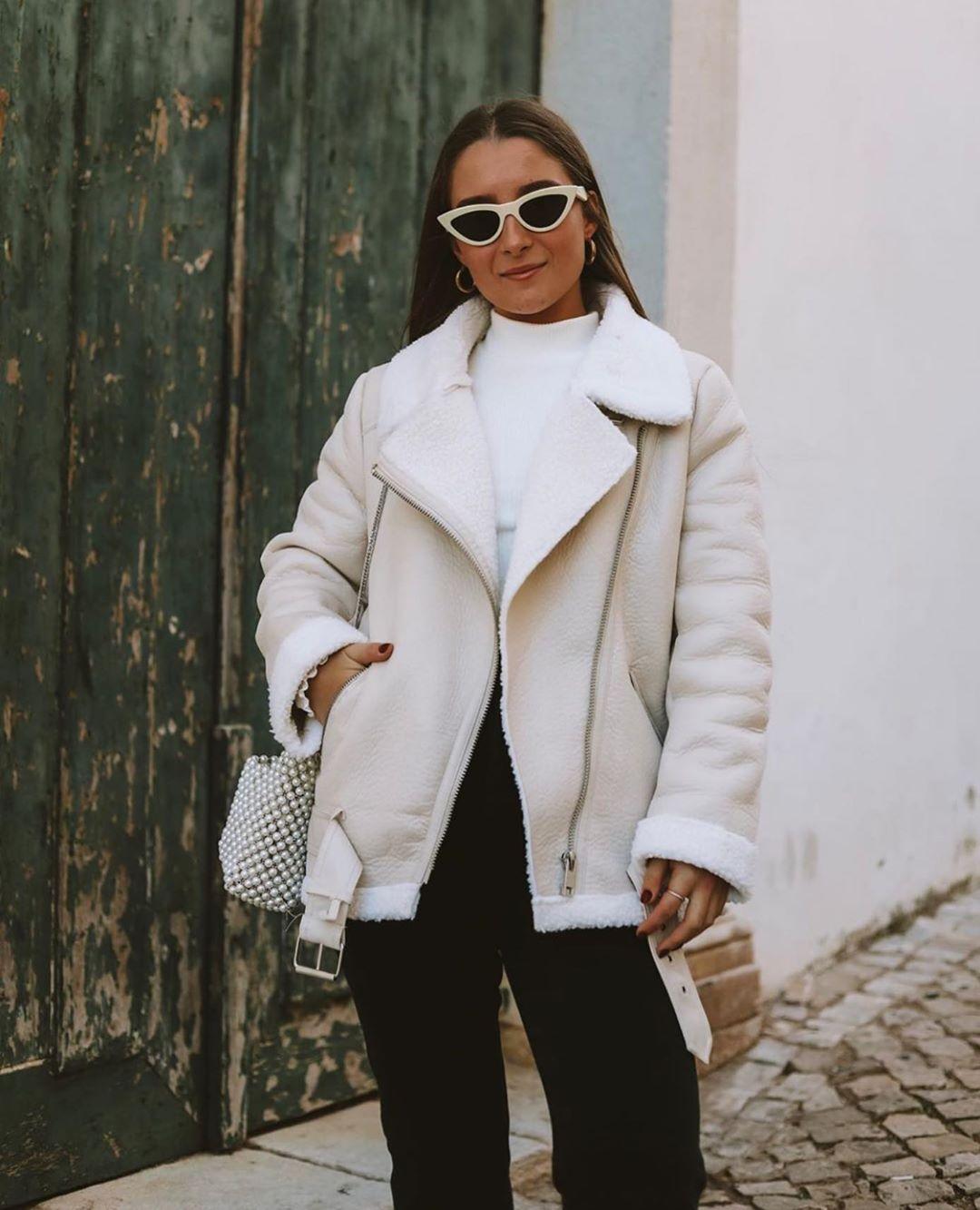 veste de motard double face de Zara sur zara.outfits