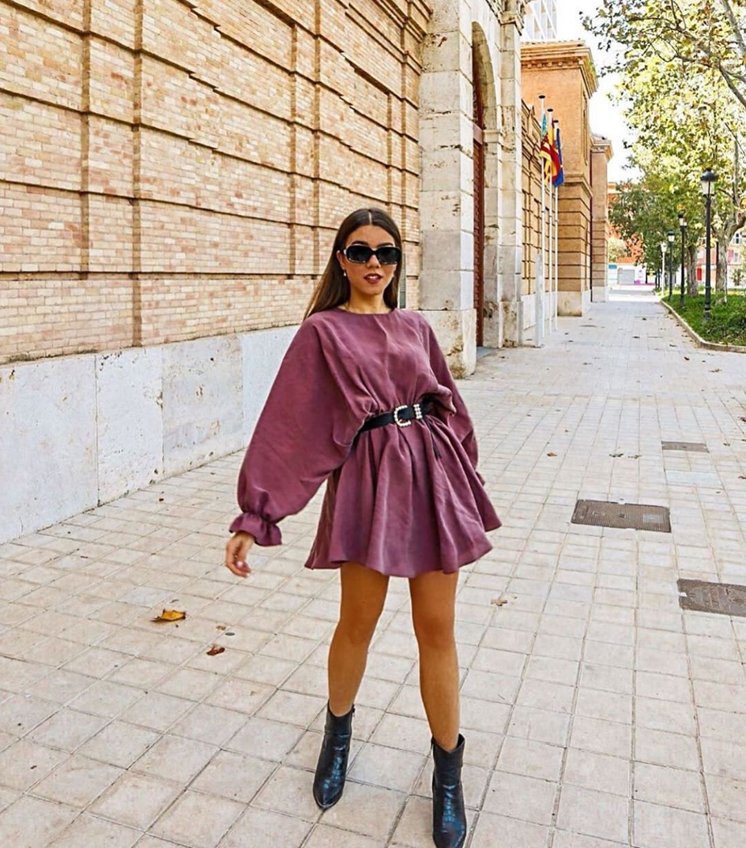 robe ample de Zara sur zara.outfits