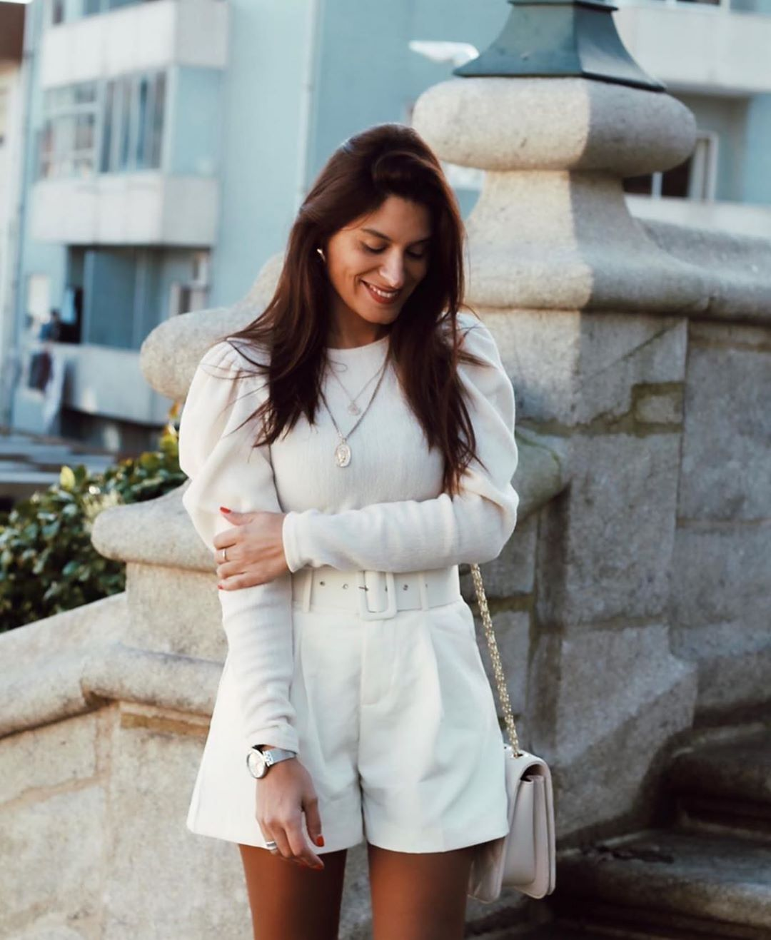 short à ceinture de Zara sur zara.outfits