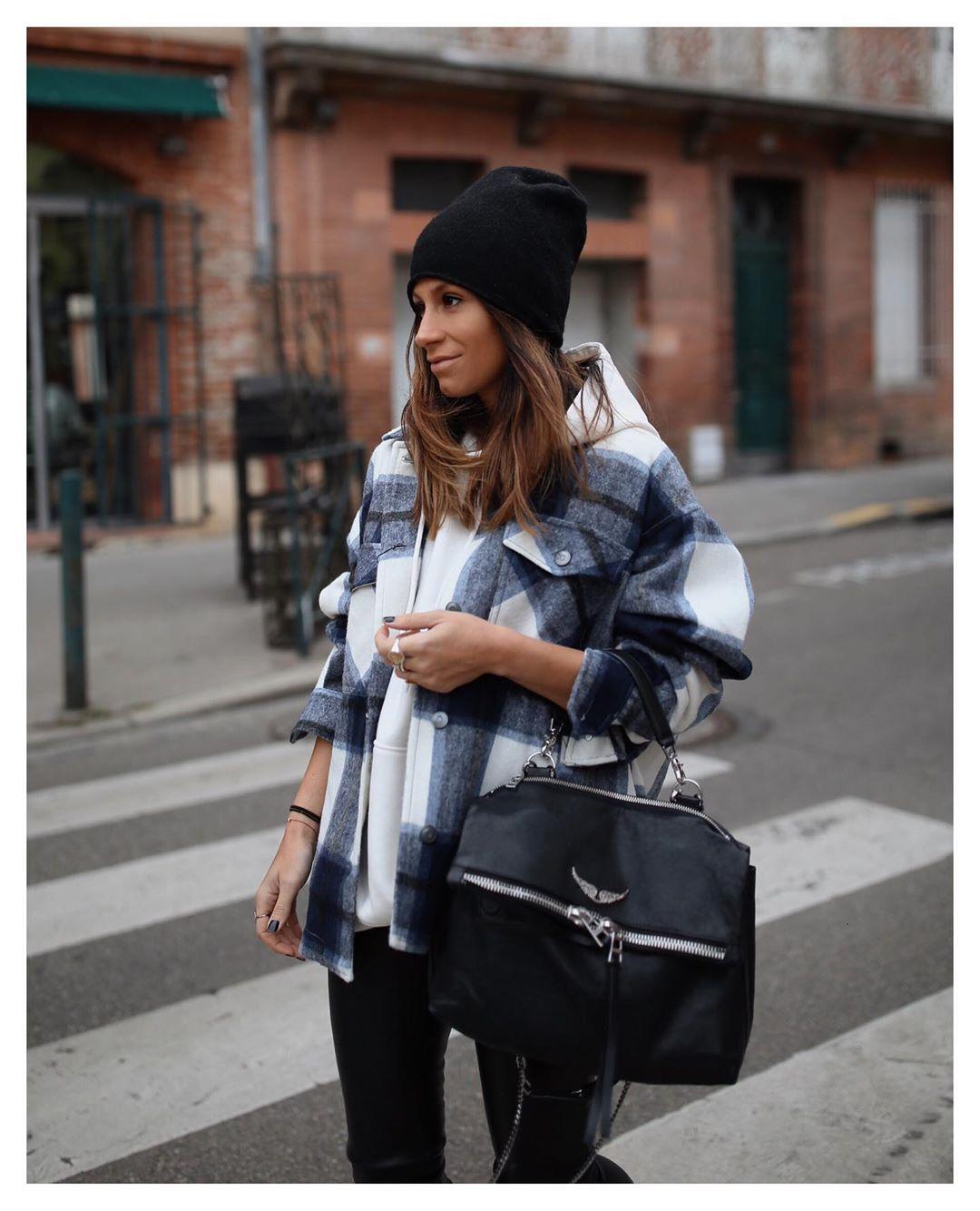 surchemise à carreaux de Zara sur boho_addict