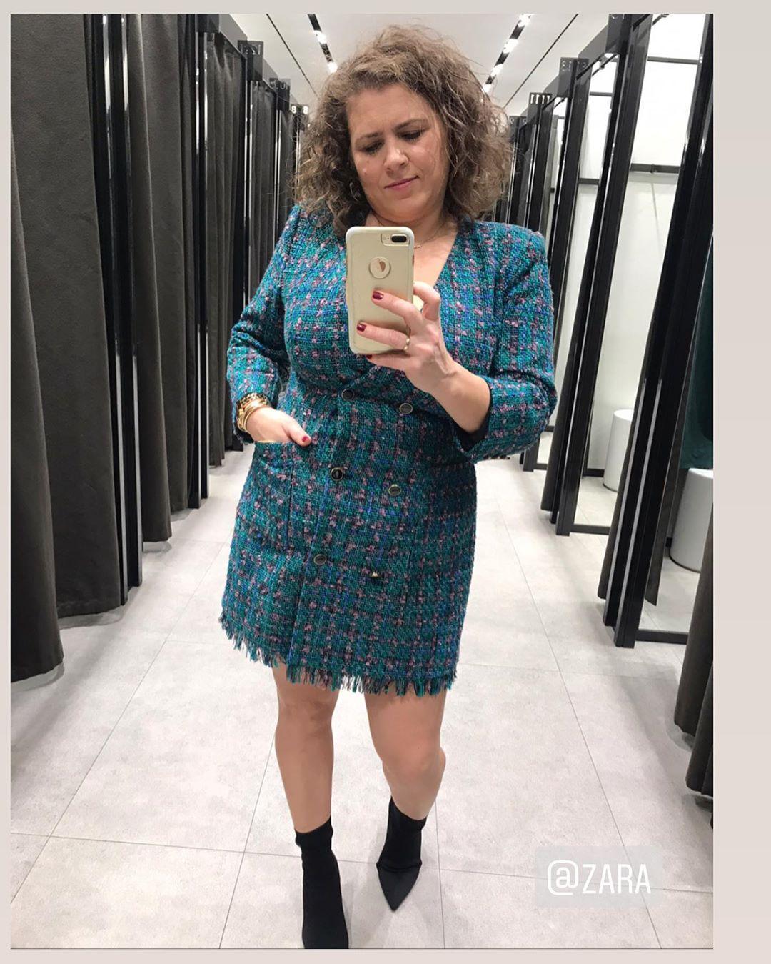 jacket dress with buttons de Zara sur iria_boiro