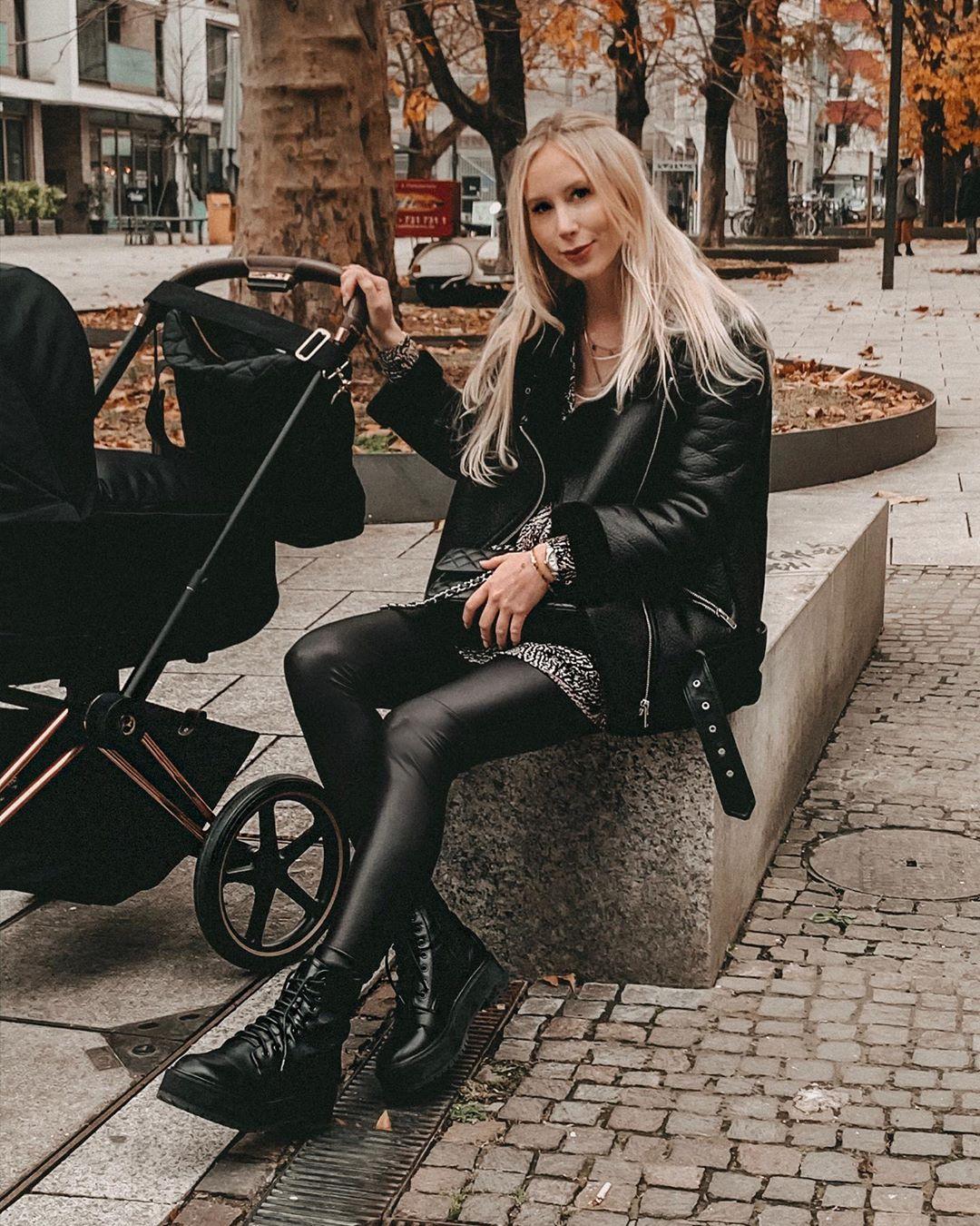 double-sided biker jacket de Zara sur saandiana