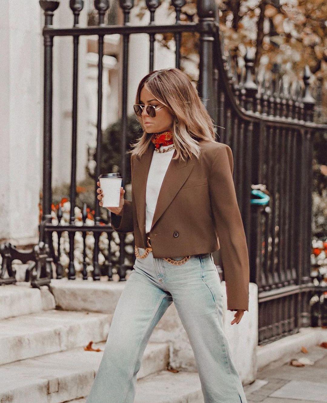 pantalon large à pinces de Zara sur zara.outfits