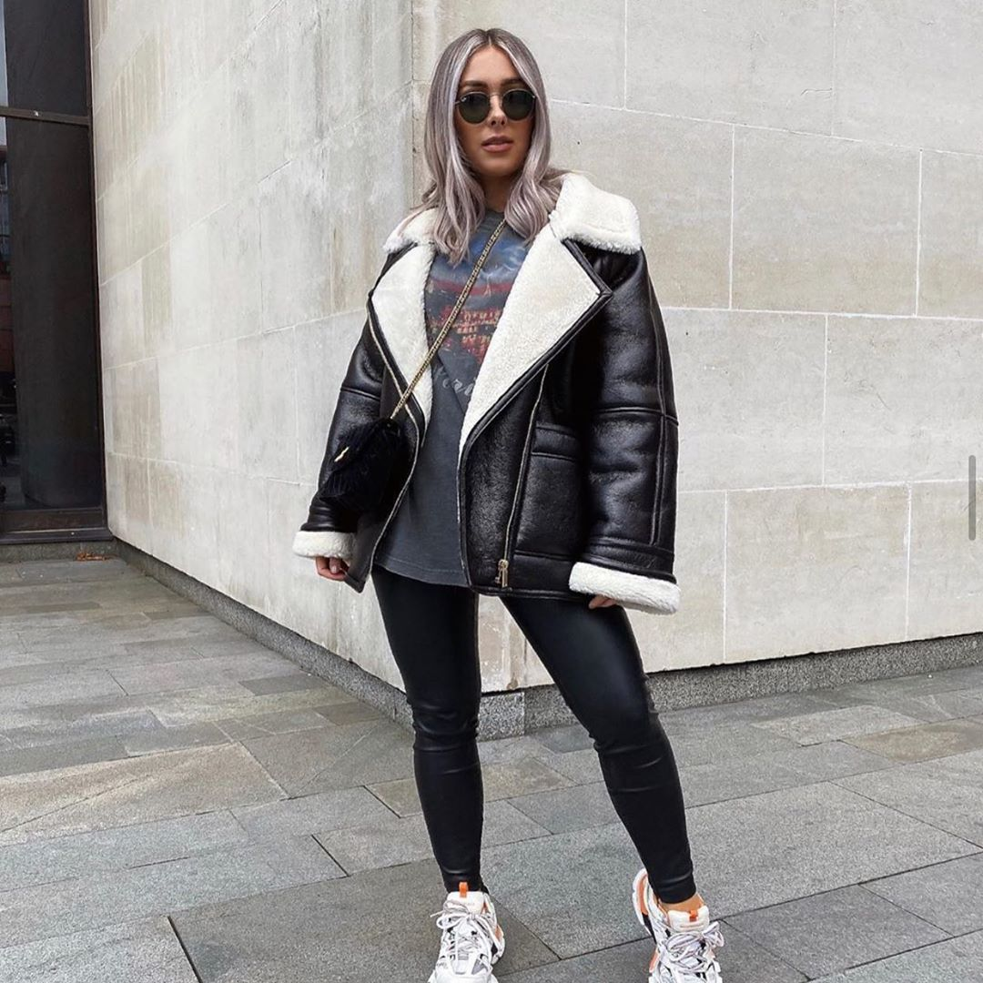 oversized double-sided jacket de Zara sur zara_italy_woman