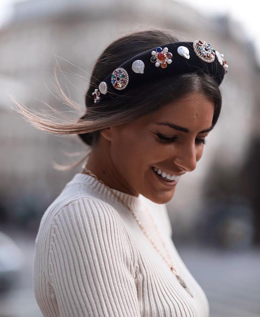 serre-tête bijou édition limitée de Zara sur zara.outfits