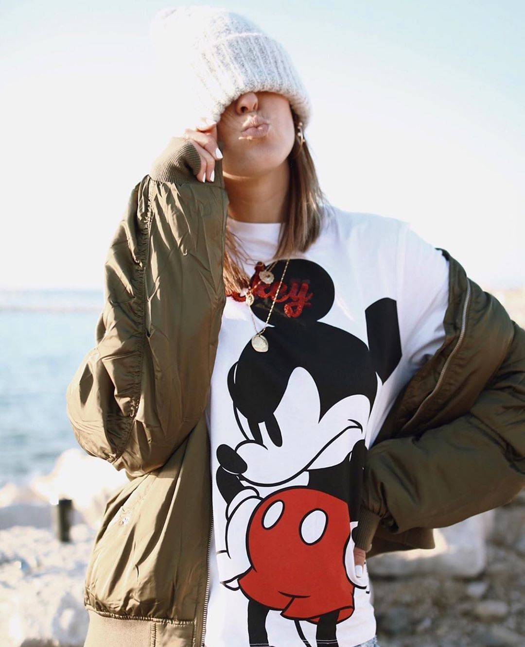 t-shirt mickey mouse ©disney de Zara sur zara.outfits