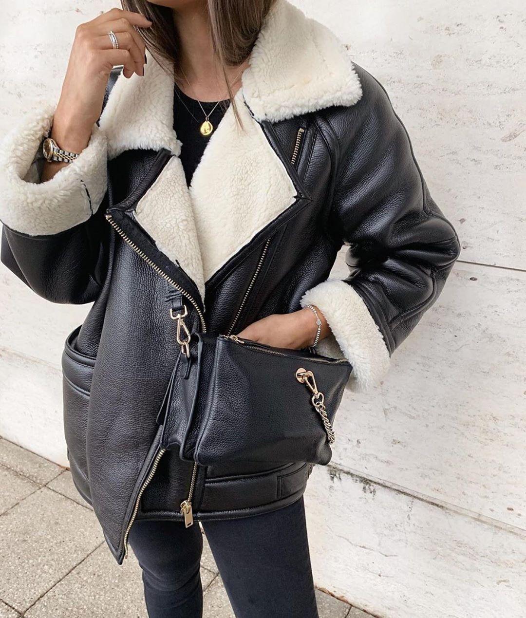 oversized double-sided jacket de Zara sur zaraaddiction