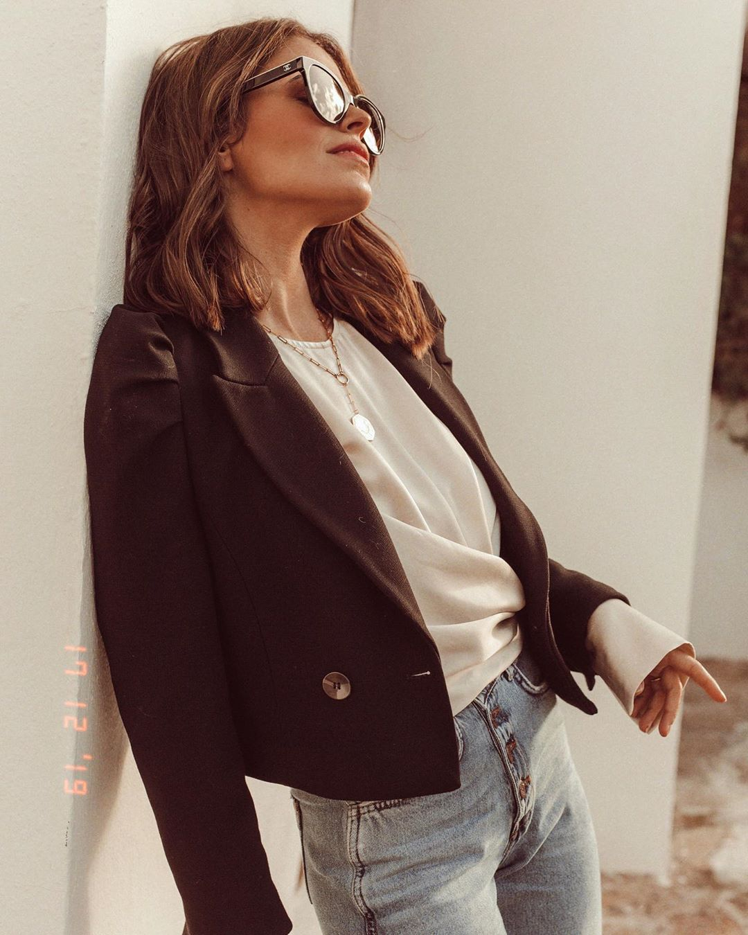 z1975 high waist button jeans de Zara sur jessiekass