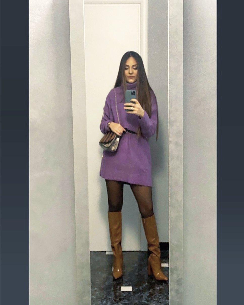 soft touch dress de Zara sur _denise_catalano_