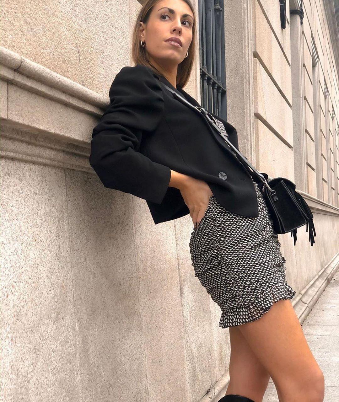 puff shoulder jacket de Zara sur zaraaddiction