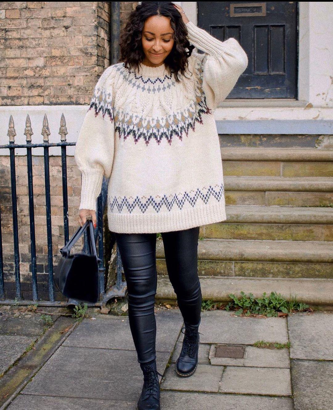 pull en jacquard avec laine de Zara sur zara.mania