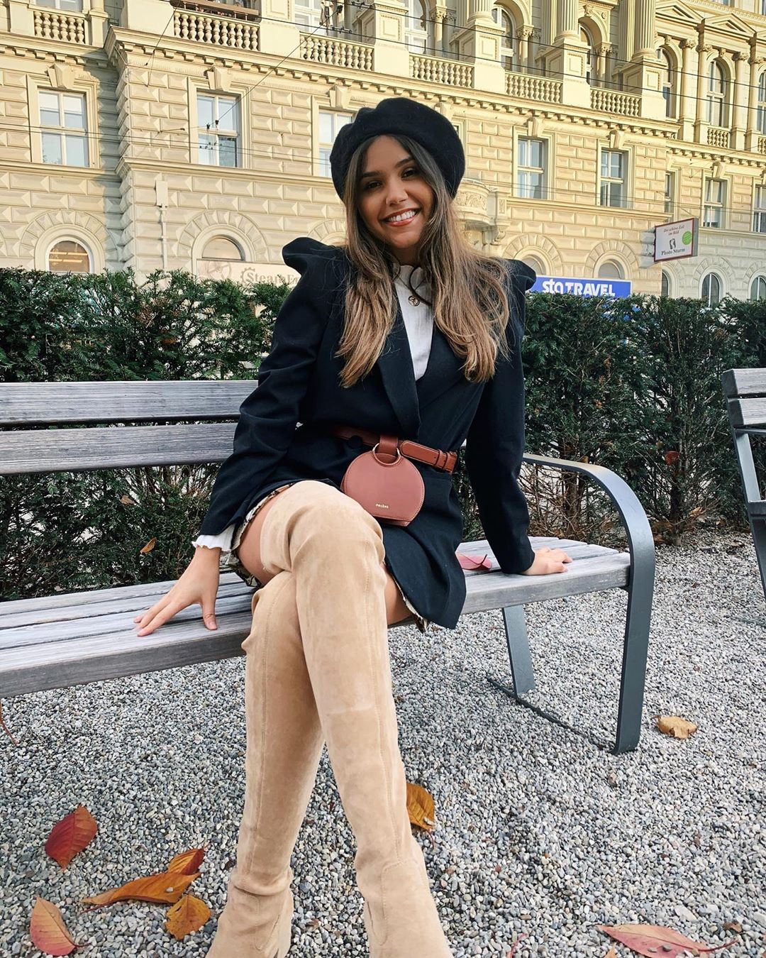 puff sleeve jacket de Zara sur yasminrobert