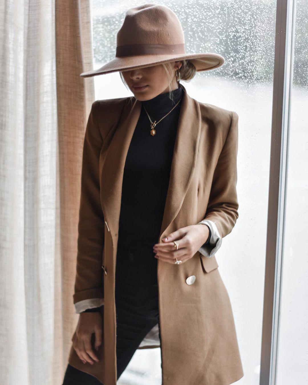 crossover breasted jacket de Zara sur sarahmaggioli