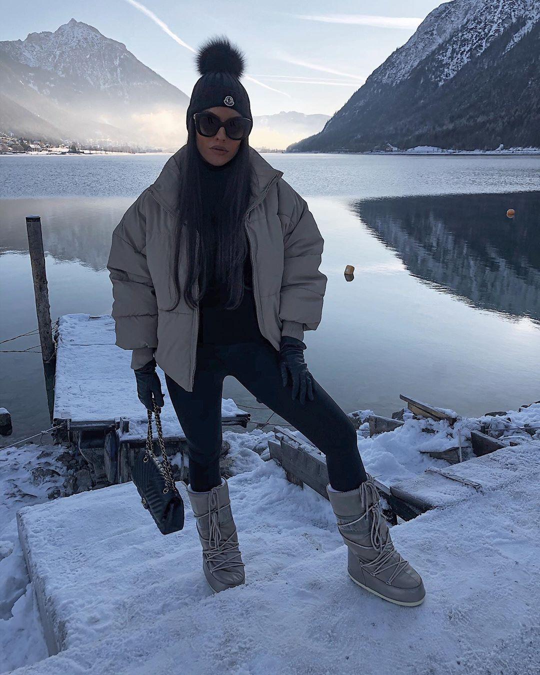 oversize padded jacket de Zara sur rominaluciia