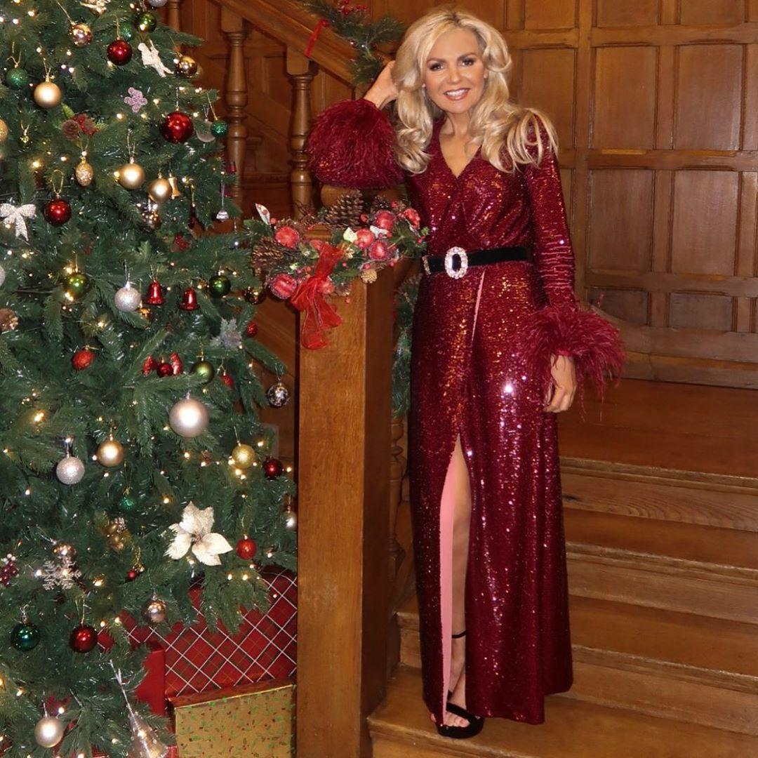 glitter pants de Zara sur kasha_grimes