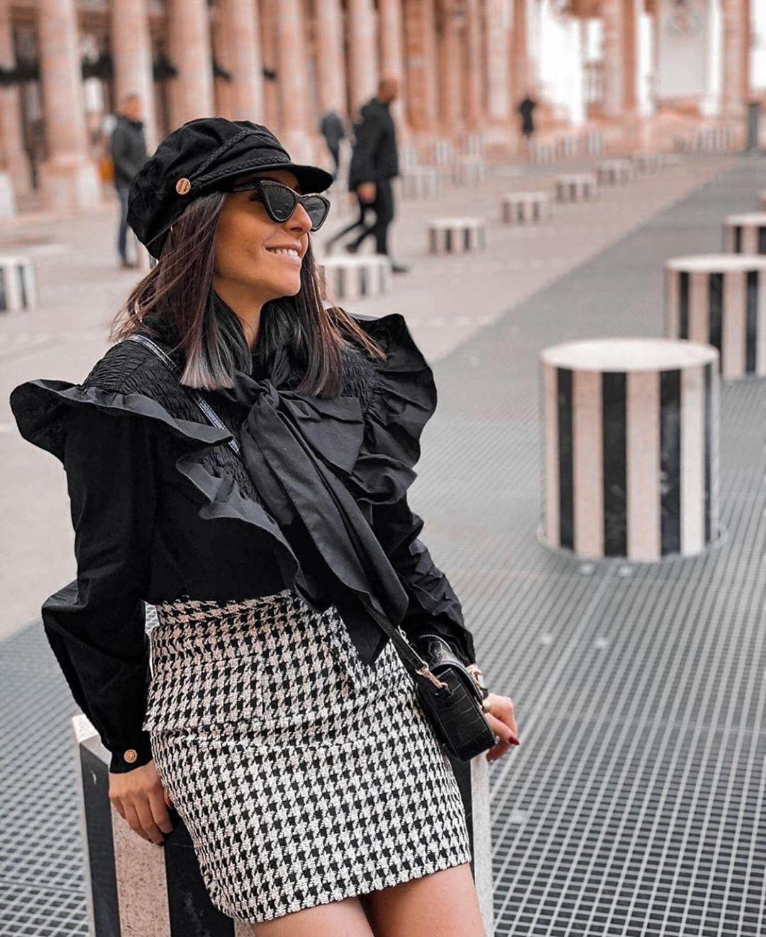 casquette style marin de Zara sur zara.outfits