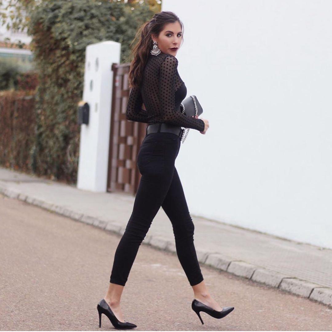 chaussures à talons hauts en cuir de Zara sur zara.outfits