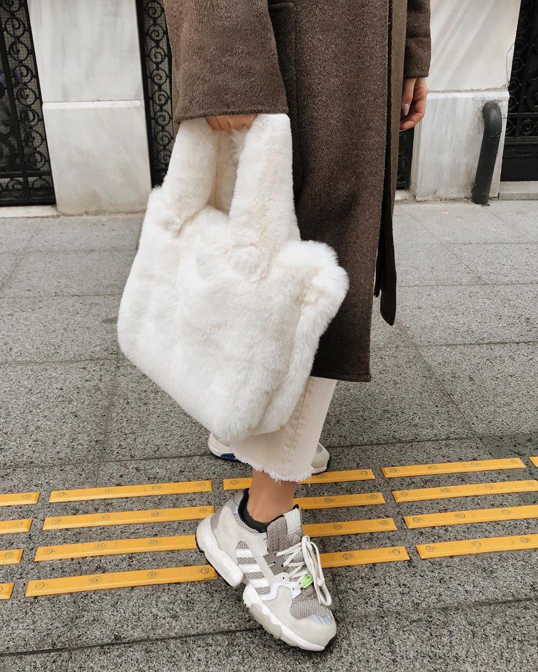 coat with patch pockets de Zara sur oykuozguler