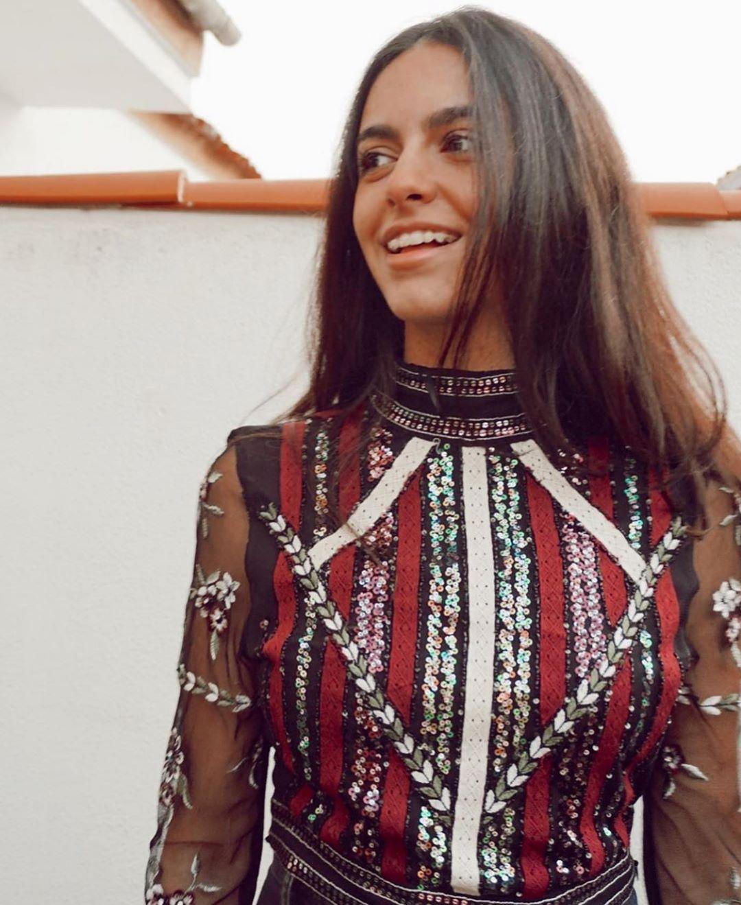 top en crochet à paillettes de Zara sur zara.outfits