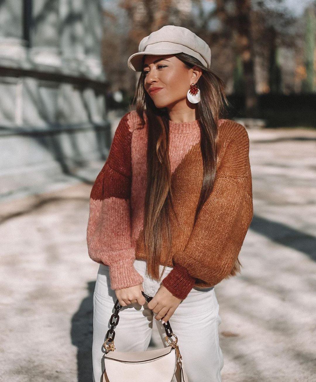 pull avec mohair et laine de Zara sur zara.outfits