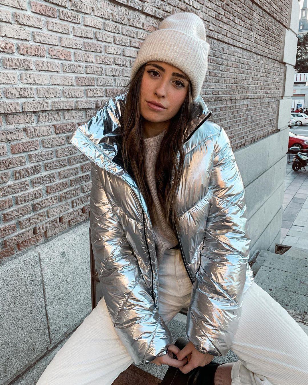quilted hooded jacket de Zara sur carlomaranon