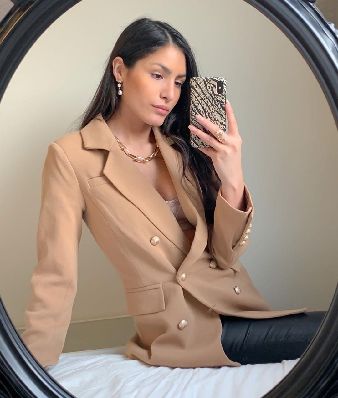 crossover breasted jacket de Zara sur estheraguirre