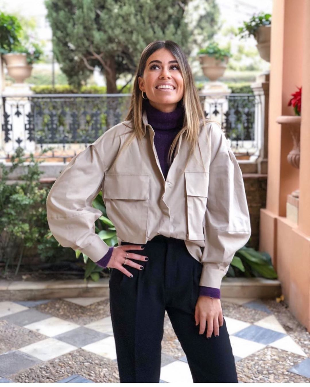 chemise oversize avec poches de Zara sur zara.outfits