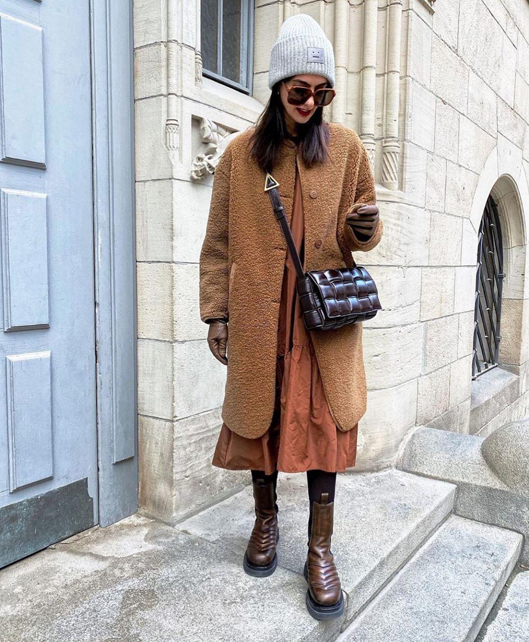 manteau effet mouton de Zara sur zara.mania