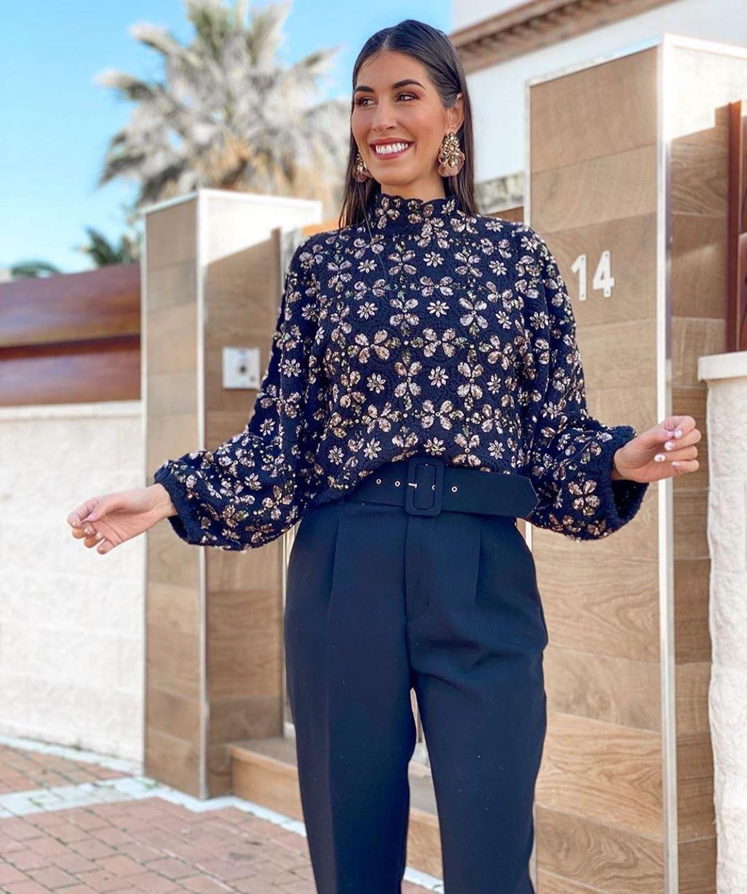 pull structuré à paillettes édition limitée de Zara sur zara.outfits