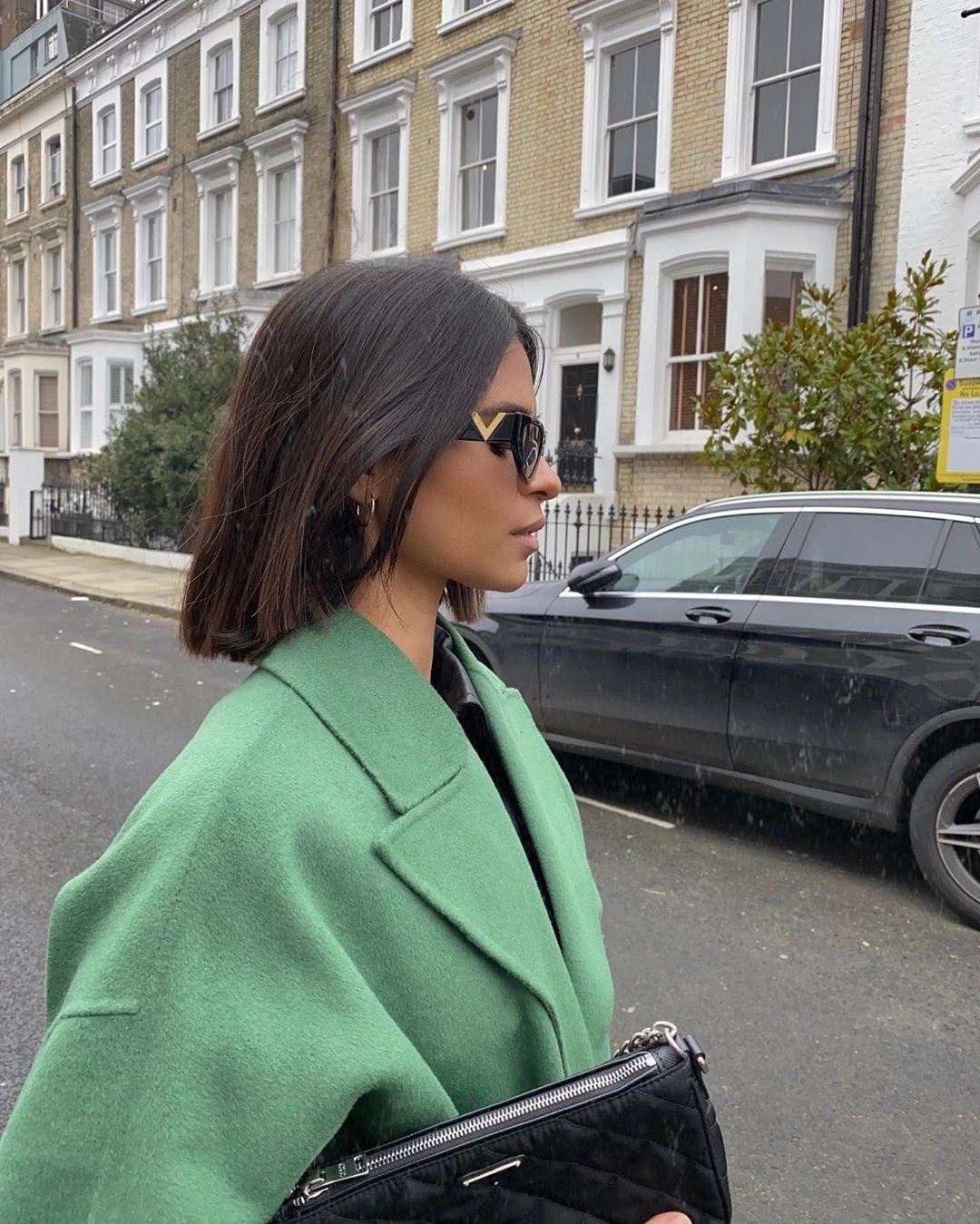 manteau avec manches amples de Zara sur emitaz