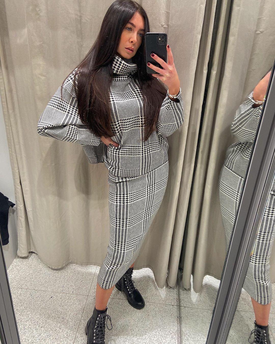 mesh tube skirt de Zara sur courtbyafeather