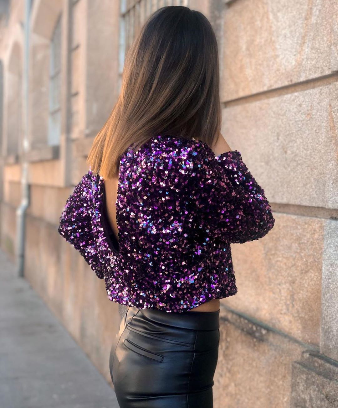 glitter short top de Zara sur zaraaddiction