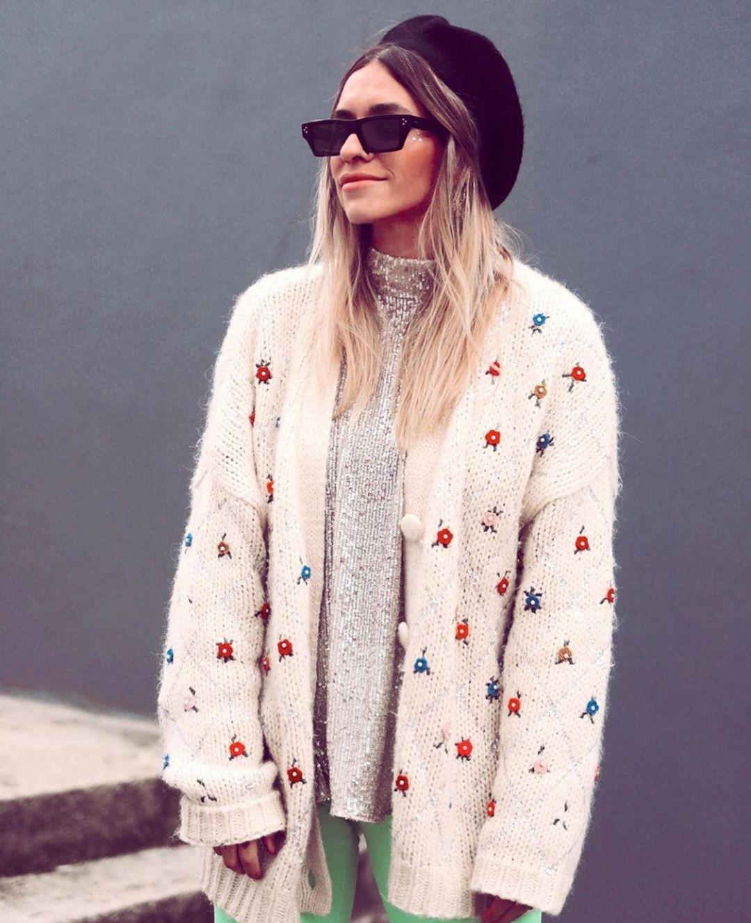 gilet brodé édition limitée de Zara sur zara.outfits