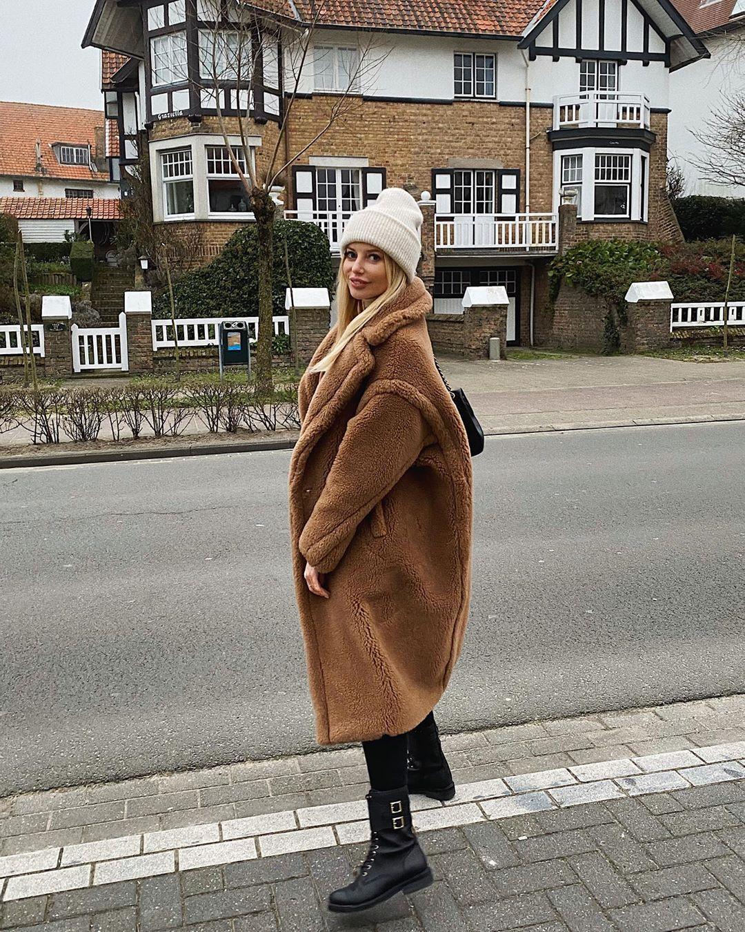 bonnet avec laine et alpaga de Zara sur annabelpesant