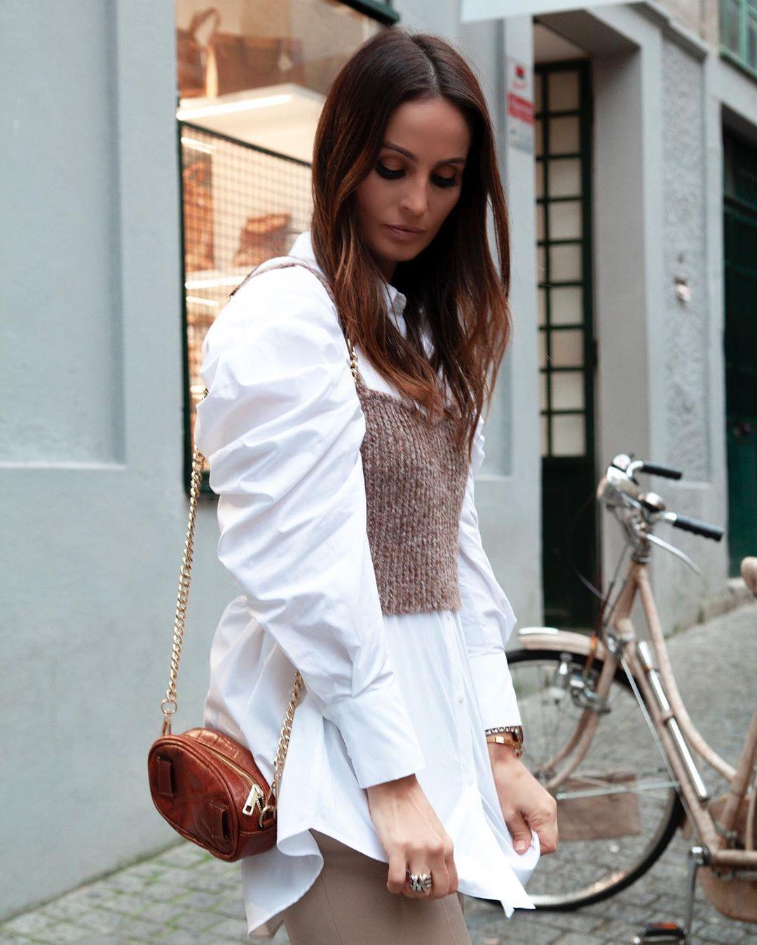 basic pocket shirt de Zara sur marysilva.blog