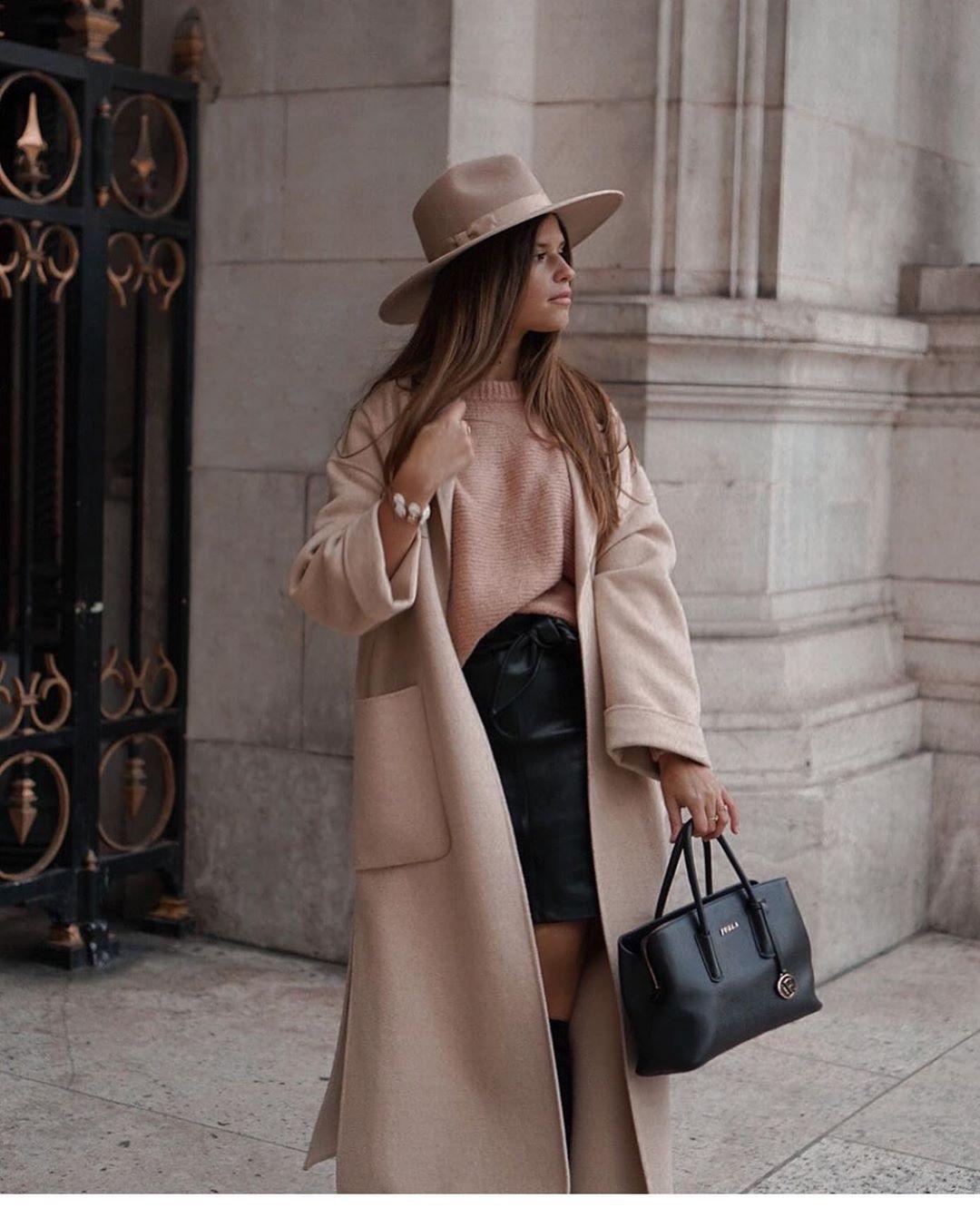 manteau avec poches plaquées de Zara sur zara.outfits