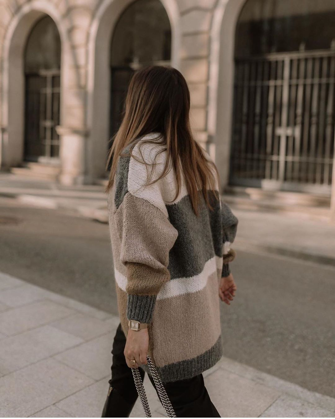 veste color block de Zara sur zara.outfits