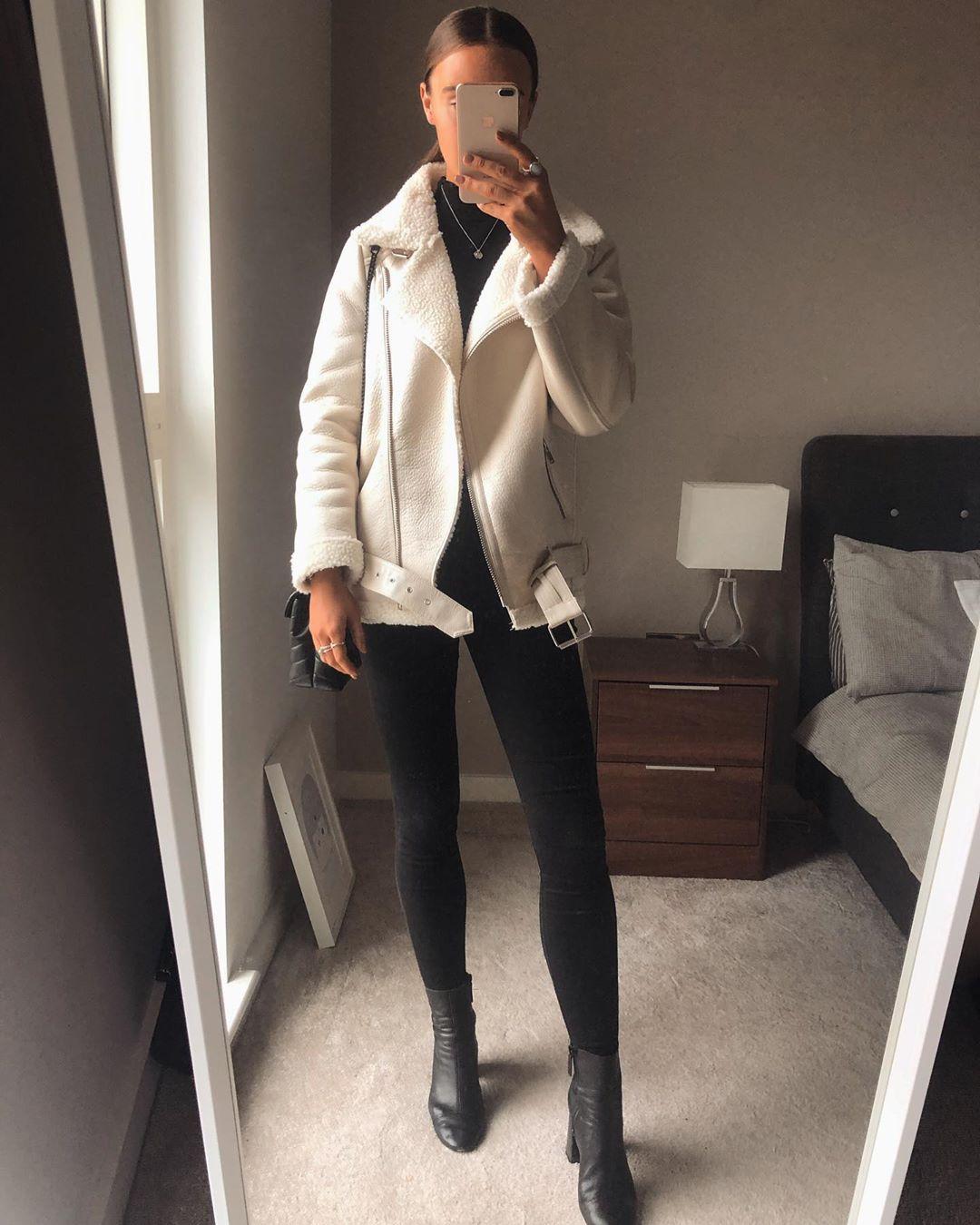 double-sided jacket de Zara sur whatemwore