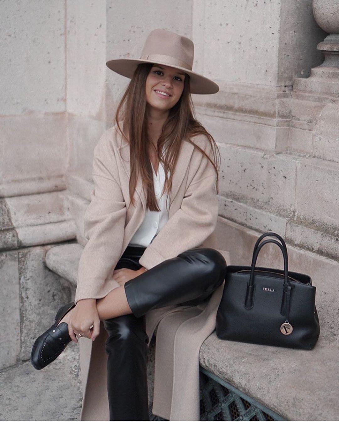manteau à col enveloppant de Zara sur zara.outfits