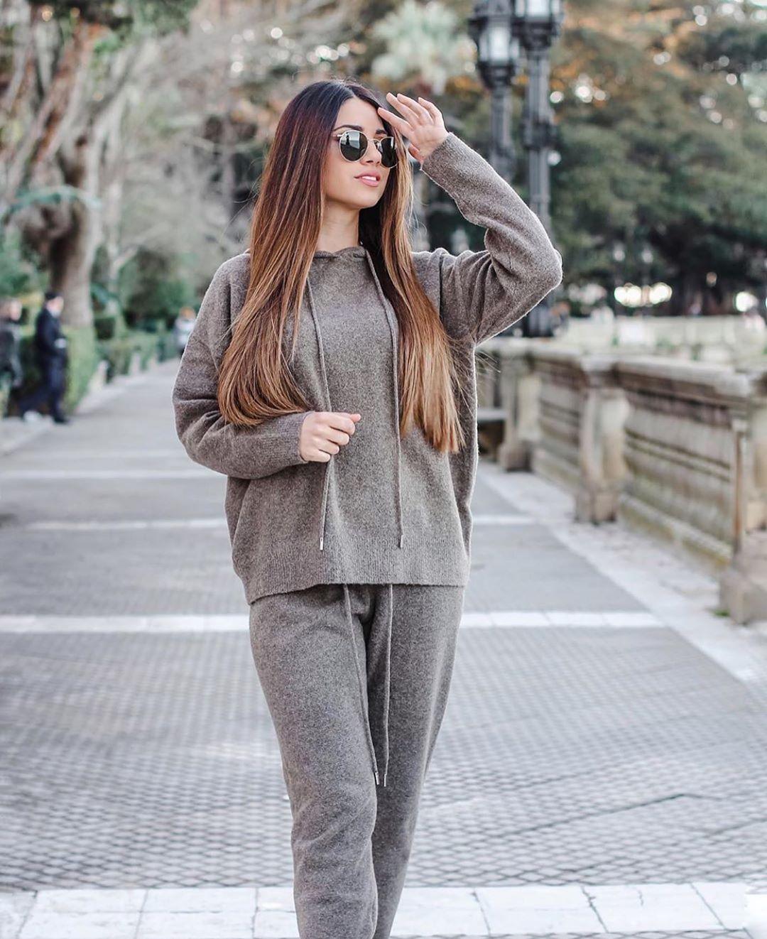 pantalon de jogging en maille de Zara sur zara.outfits