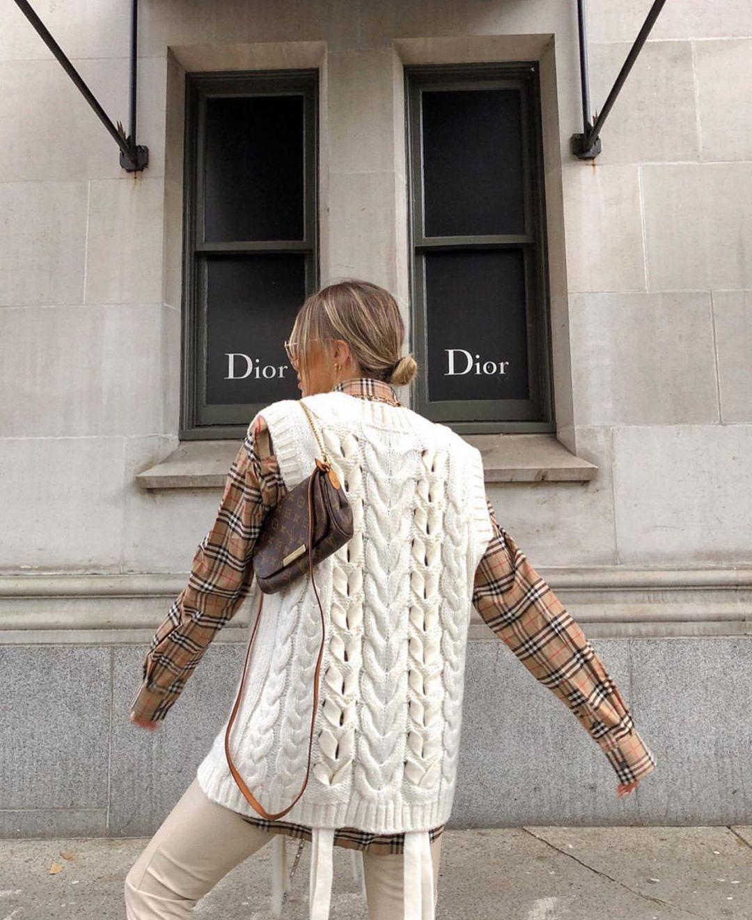 twisted knit sleeveless vest de Zara sur zaraaddiction