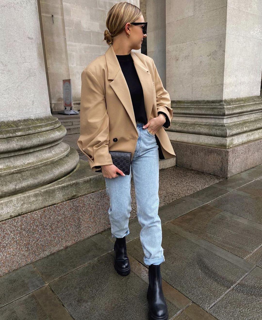 veste à boutonnage croisé masculin de Zara sur zara.mania